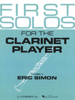 First Solos for the Clarinet Player  HL #50331520
