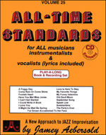 Aebersold, Volume  25 - All Time Standards