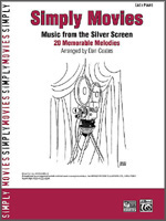 Simply Movies Music from the Silver Screen easy piano: 20 Memorable Melodies