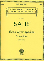 Satie, 3 Gymnopedies For The Piano
