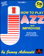 Aebersold, Volume   1 - How to Play and Improvise