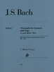 Bach J. S. , Chromatic Fantasy and Fugue in d minor BWV 903 and 903a