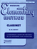 RUBANK ELEMENTARY METHOD – CLARINET HL 04470000