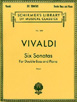 Vivaldi Six Sonatas, For Double Bass and Piano #HL 50262660