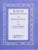 Bach J. S. , 371 Harmonized Chorales and 69 Chorale Melodies w/figured bass