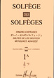 Solfege Des Solfeges 1A - singing exercises