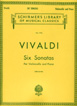 Vivaldi, 6 Sonatas (Cello / Piano)