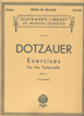 Dotzauer, Exercises For Violoncello - Book 2