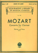 Mozart, Concerto For Clarinet, K.622, (Clarinet / Piano)
