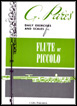Daily Exercises and Scales for Flute or Piccolo, G. Pares