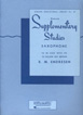 Supplementary Studies For Saxophone Rubank HL 04470620