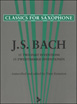 Classic For Saxophone - Bach J. S. , 15 Two-Part Inventions