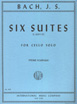 Bach J. S. , Six Suites For Cello Solo (S. 1007 – 1012)
