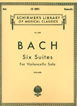 Bach J. S. , Six Suites For Violoncello Solo
