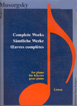 Musorgsky, Complete Works for piano