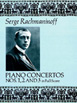 Rachmaninoff, Piano Concertos Nos. 1, 2 And 3 In Full Score