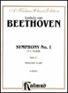 Beethoven, Symphony No. 1 in C Major Opus 21, Miniature Score