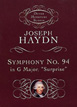 Haydn, Symphony No. 94 in G Major, surprise