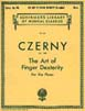 Czerny - The Art Of Finger Dexterity - Op. 740 (HL 50253100)