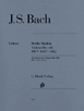 Bach J.S , Six Suites for Cello Solo BWV1007-1012 HN666