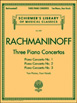 Rachmaninoff  Three Piano Concertos HL50490013