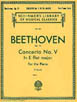 Beethoven - Concerto No.V - In Eb Major (Two Piano) HL 50255810