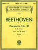 Beethoven - Concerto No.III op 37 C Minor (Two Piano) HL 50255790