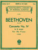 Beethoven - Concerto No.IV- G Major (Two Piano) HL 50255800