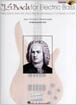 Bach , J.S for Electric  bass Guitar HL00696460 באך לגיטרה בס