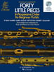 40 Little Pieces in Progressive Order for Beginner Flutists, 2 CD (HL50490445)דיסקים בלבד בלי חוברת