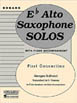 First Concertino by Georges Guilhaud Alto Saxophone Solo with Piano - Grade 4 HL 04477494